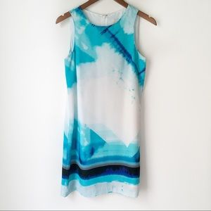 Mercer & Madison Watercolor Abstract Shift Dress